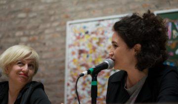Presentación de Lecturas Feministas en el Concejo de la Legislatura de Hurlingam junto a Julia Mengolini