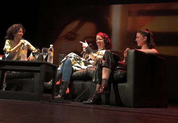 Shirley Manson dio una charla en el marco del cierre del Goza Tour